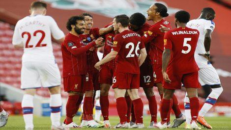 Liverpool vuelve a ser campeón de la Premier League tras 30 años de sequía