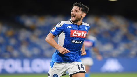 Con récord de Mertens el Napoli clasificó a la final de la Copa Italia