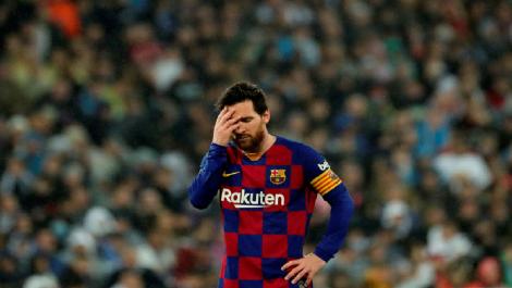 Messi es duda para la reanudación de La Liga