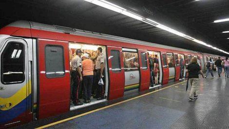 Metro de Caracas no está funcionando desde Los Dos Caminos hasta Palo Verde