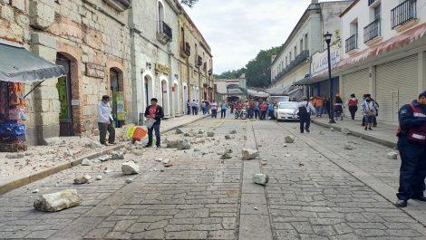 Terremoto dejó un saldo de cuatro muertos en México