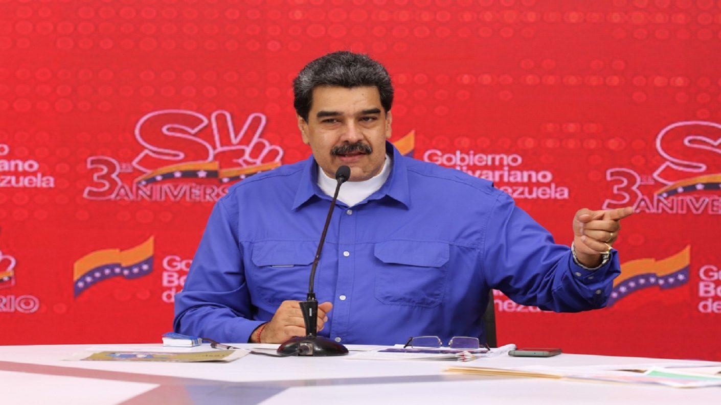 Maduro reiteró su disposición a conversar con el presidente Donald Trump