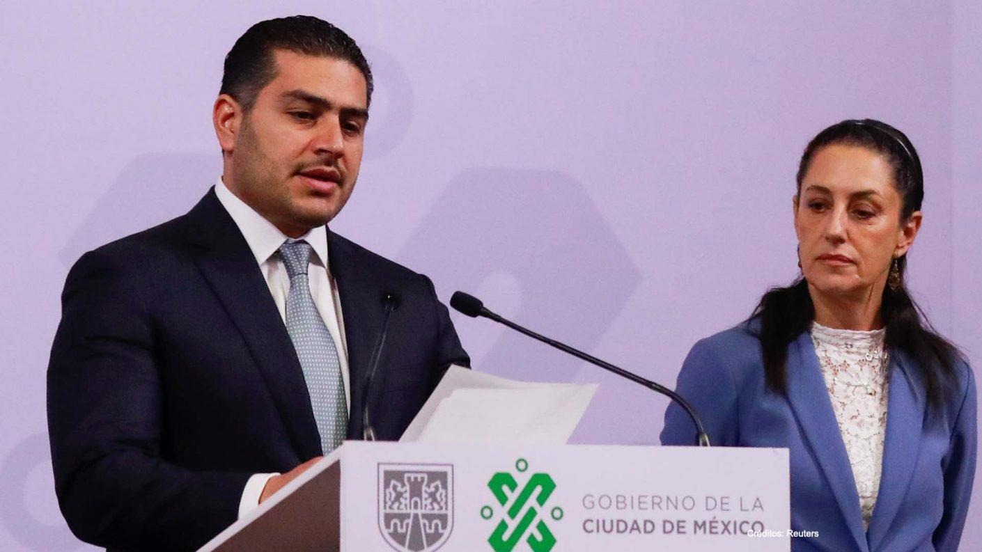 Jefe de Seguridad de Ciudad de México fue herido en atentado
