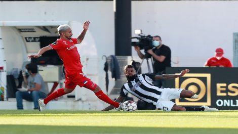 Portimonense derrotó por la mínima al Gil Vicente