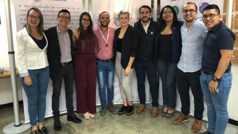 Promotores del proyecto Foro Permanente de Juventudes