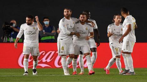 El Real Madrid aplastó al Valencia en La Liga