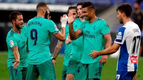 El Real Madrid cumplió y es el nuevo líder de La Liga