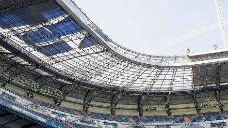 El Real Madrid muestra los avances del nuevo Bernabéu