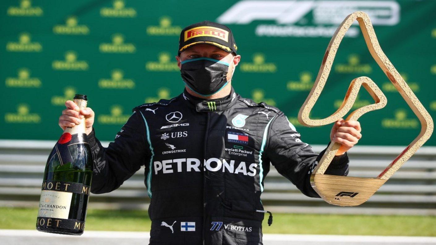 (Fórmula 1) Valtteri Bottas consagró el Gran Premio de Austria