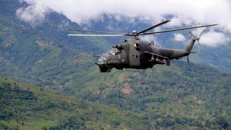 Reuters: Siete muertos al caer helicóptero de la Fuerza Aérea de Perú