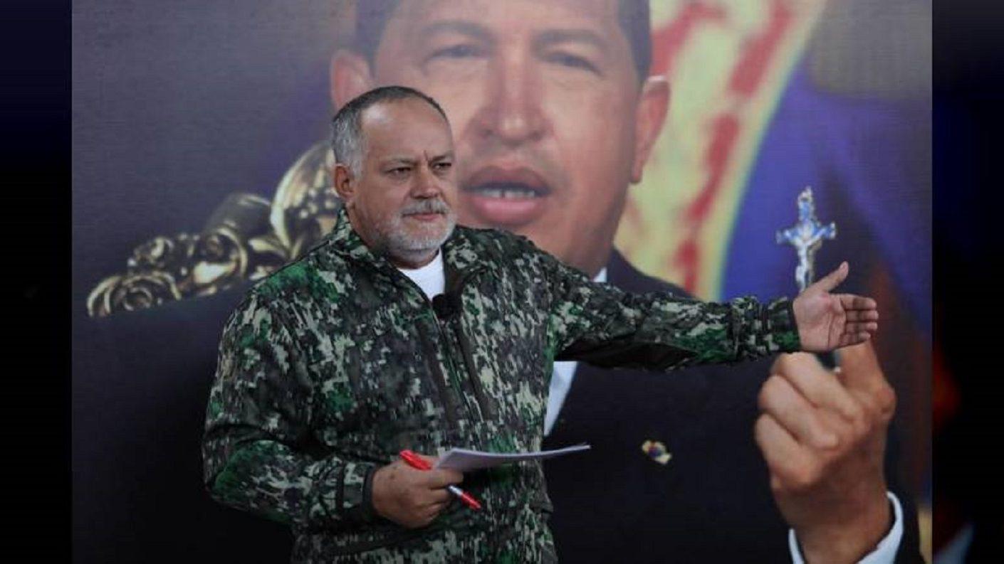 Diosdado Cabello suspendió su programa por fuerte «alergia»