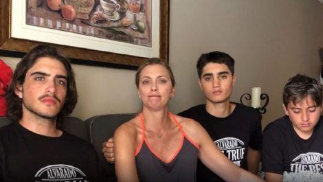 Emma Rabbe y sus hijos despiden al «espléndido» Daniel Alvarado