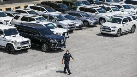 Confiscan vehículos con un valor de $3,2 millones destinados a Venezuela