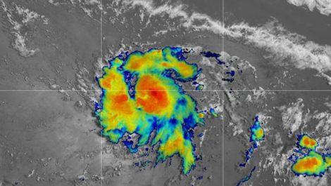 Comienzan a sentirse los efectos de la Tormenta Tropical «Gonzalo»