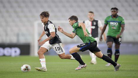 Juventus no pasó del empate ante el Sassuolo por la fecha 33 de la Serie A
