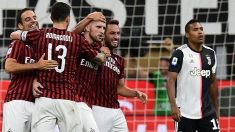 El Milán logró una épica remontada ante la Juventus