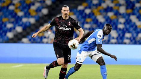 Napoli y Milan dividen en San Paolo