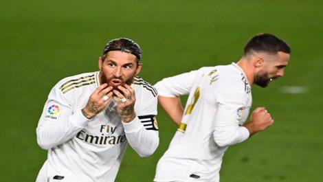 Sergio Ramos salvó nuevamente al Madrid