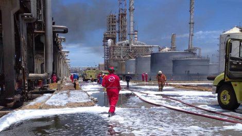 Un incendio se registró en la refinería de Cardón: no hay heridos