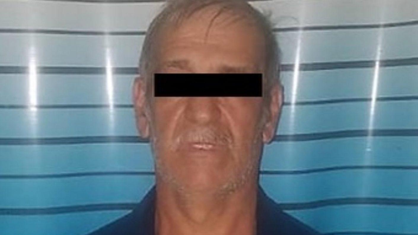 Capturado abuelo de 61 años por abusar de su nieta de 4 años