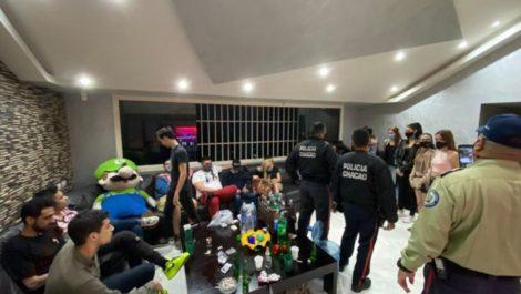 Coronafiesta en Altamira dejó 22 detenidos