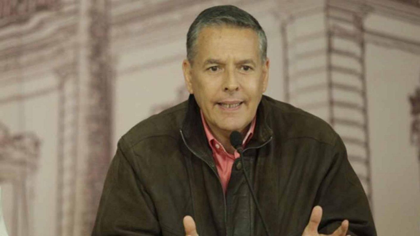 José Vicente Rangel Avalos da positivo para COVID-19