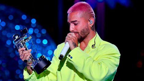 Maluma ganó el premio Video Music Award de MTV al mejor videoclip latino