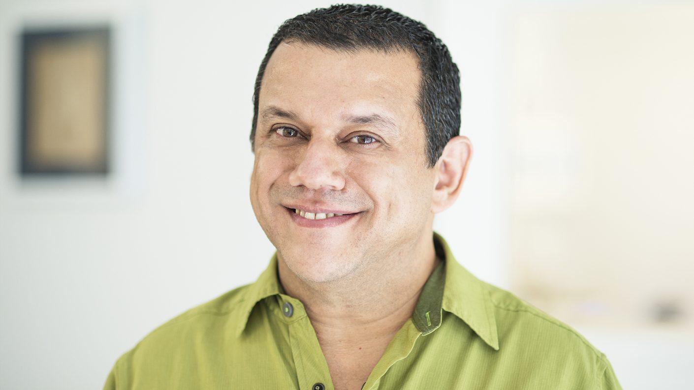 Emilio Lovera está dando de qué hablar en las redes sociales