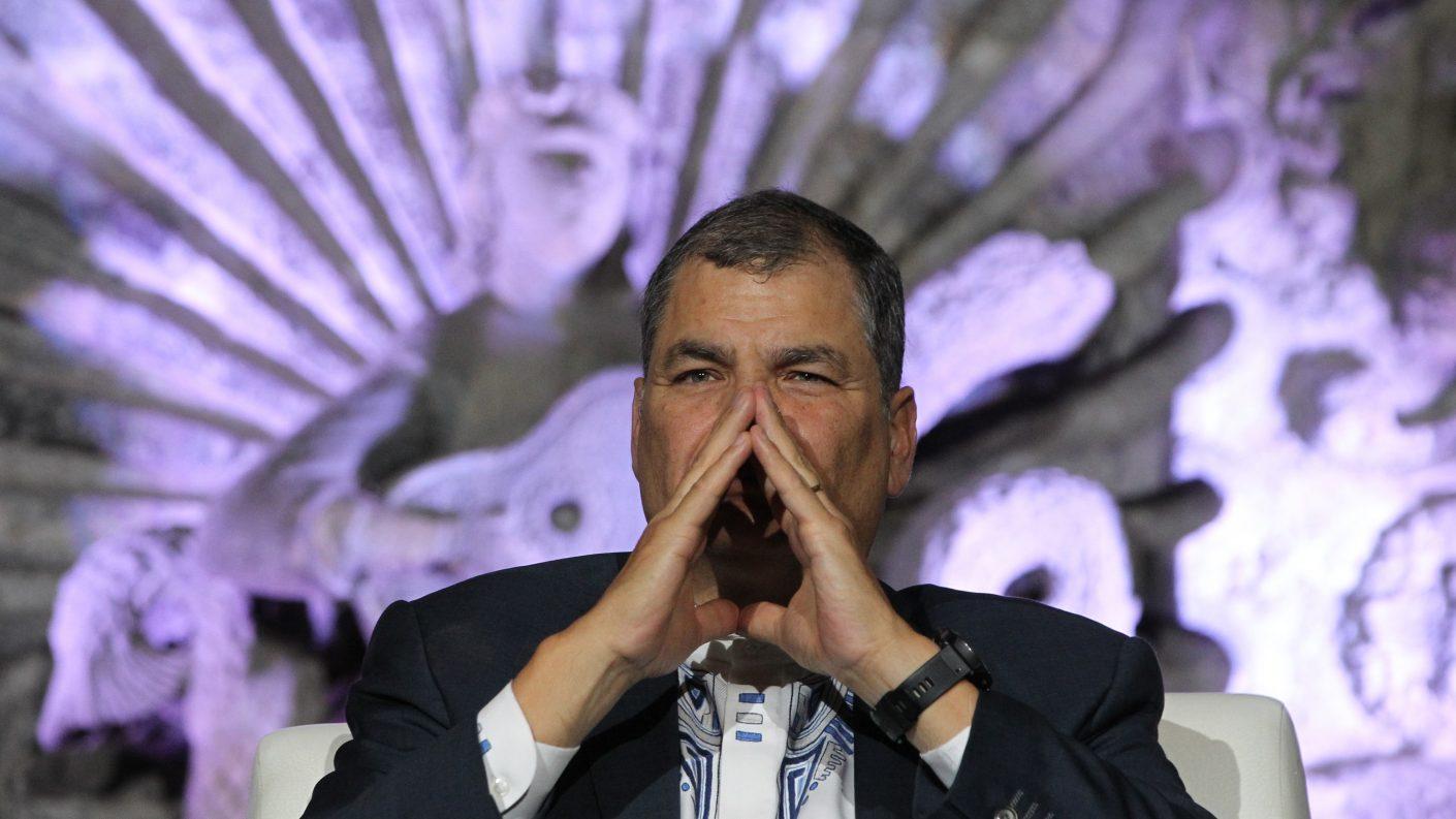Corte rechaza recurso para anular sentencia contra Correa en caso «Sobornos»