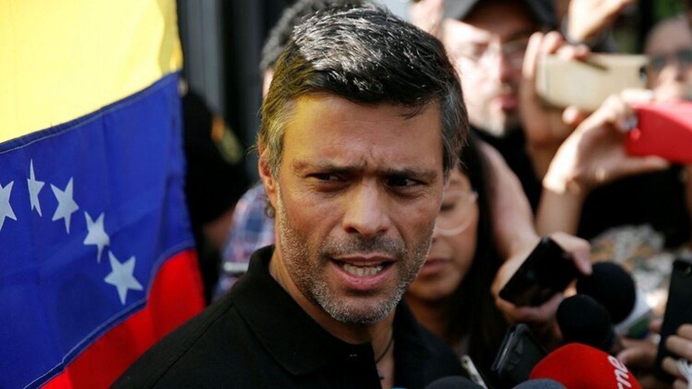 Leopoldo López dio su respaldo a la labor del gobierno encargado de Guaidó