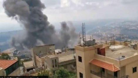 Nueva explosión en la zona de Ain Qana, al sur del Líbano