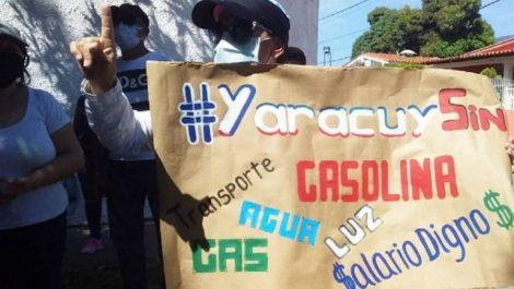 Reprimen a ciudadanos de Yaracuy en cuarto día consecutivo de protestas