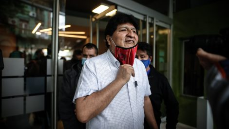 Evo Morales pasará el fin de semana en Venezuela
