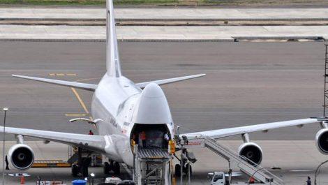 Avión iraní llega a Venezuela y descarga en Maiquetía