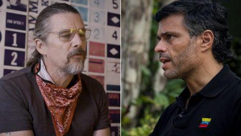 Actor Ethan Hawke reveló conversación exclusiva con Leopoldo López (+VIDEO)