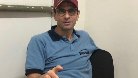 Henrique Capriles: «Fue un error haber puesto la solución a la crisis venezolana en manos de Trump».