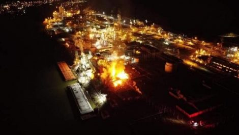 Explosión en planta química pone en alerta a varias ciudades de Estados Unidos