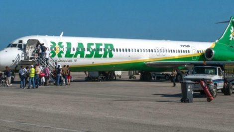 Suspenden vuelos de Laser Airlines a Santo Domingo debido a fallas de bioseguridad