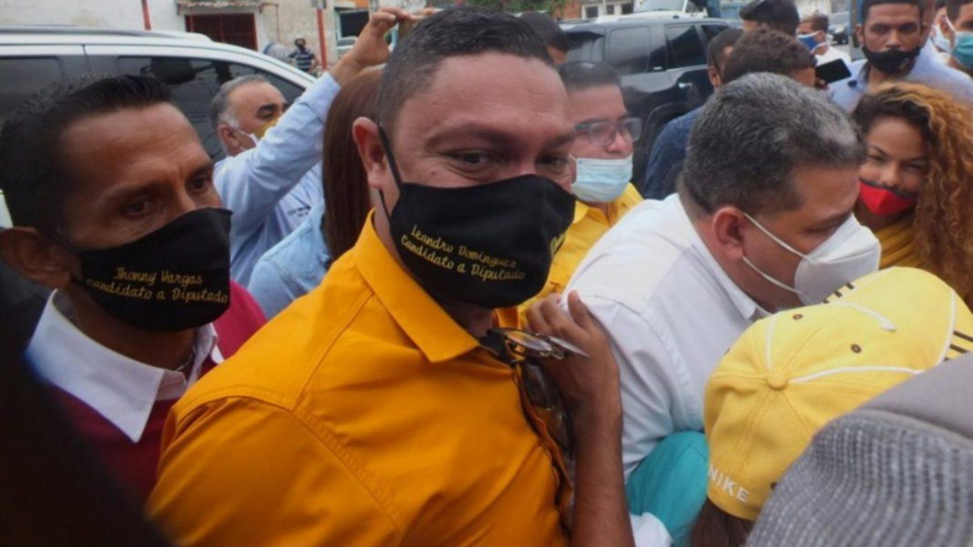Candidato del 6D emprendió una pelea en plena calle con disparos y amenazas (+VIDEO)