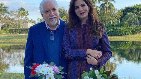 Leonardo Padrón se casó con Mariaca Semprún en Miami
