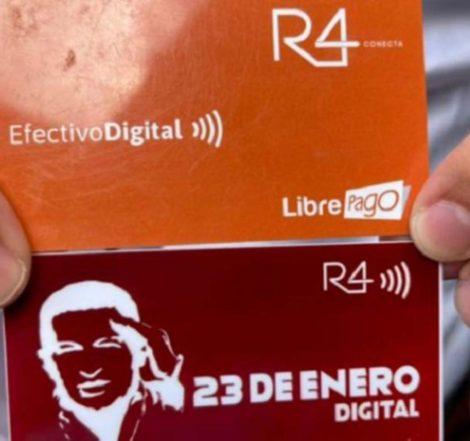 Lanzan tarjeta 23 de enero digital para transportistas