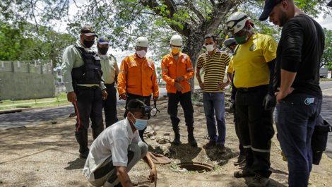 Adolescente desapareció en una alcantarilla en Puerto Ordaz