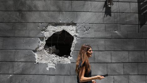 Los enfrentamientos entre Gaza e Israel siguen sin tregua en su quinto día