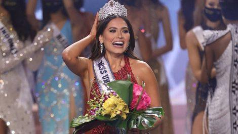 Miss México recibió la corona como Miss Universo 2021
