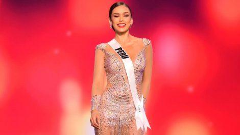 Miss Perú llegó al Miss Universo preparada por un venezolano
