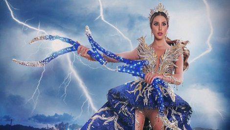 Estas fueron las reacciones ante el traje típico que presentó Mariangel Villasmil al jurado del Miss Universo