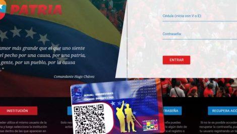 Actualizaron montos de programas de protección social mayo 2021 del sistema Patria