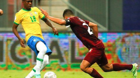 Brasil abre la Copa América 2021 con victoria 3-0 sobre Venezuela