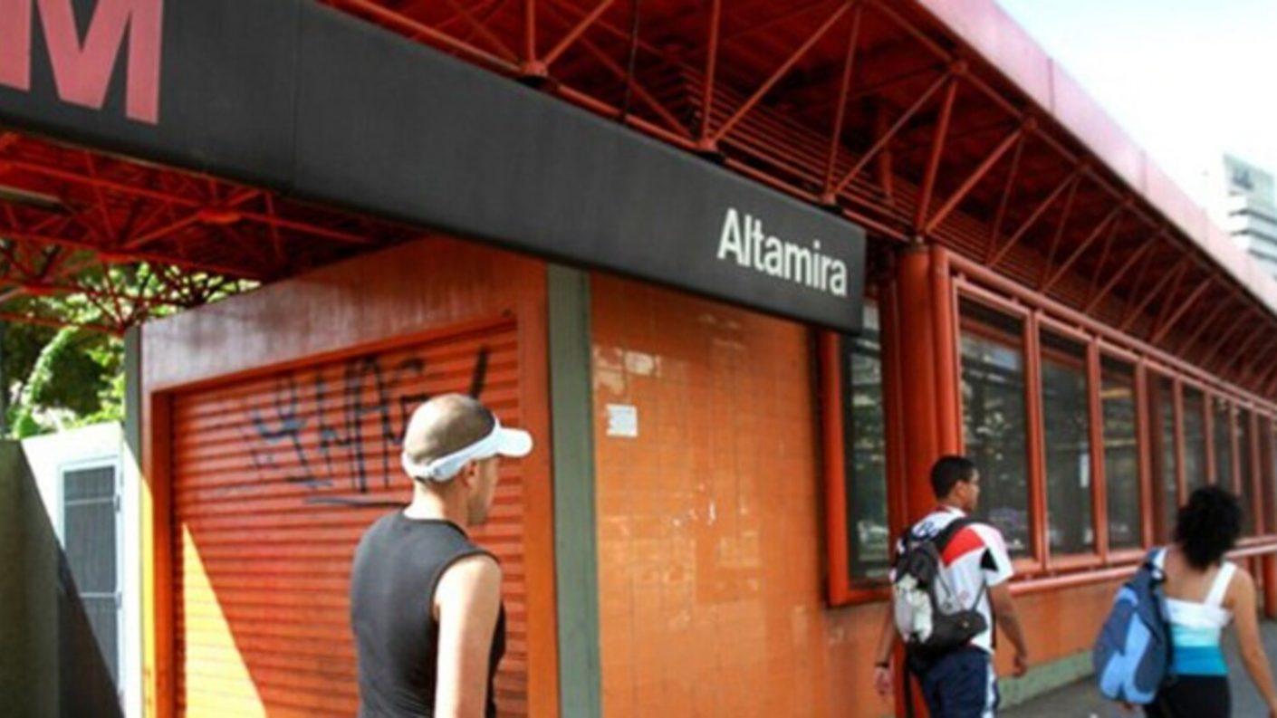 Mujer dio a luz en estación Altamira del Metro de Caracas