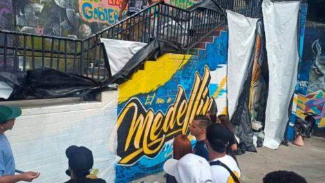 ¿Por qué borraron el mural de J Balvin en Medellín?